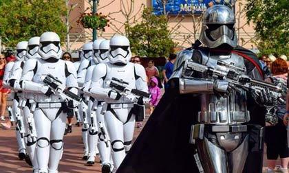 Star Wars Captain Phasma - private Disney VIP tours