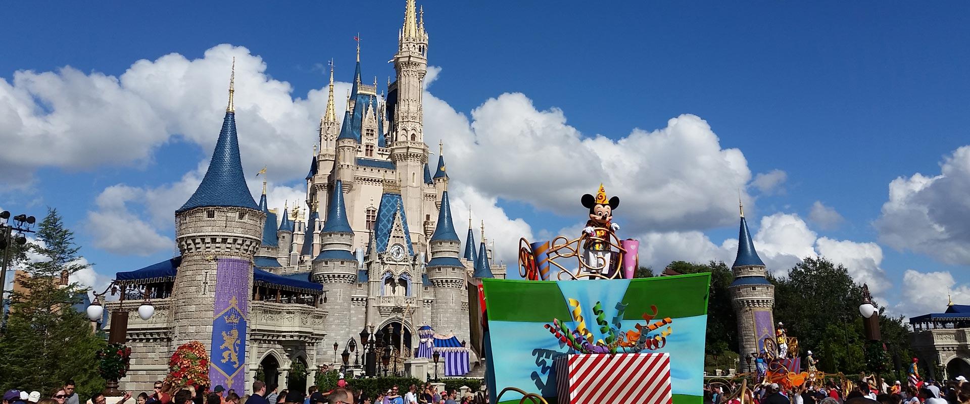Disney Cinderella's Castle - private Disney VIP tours