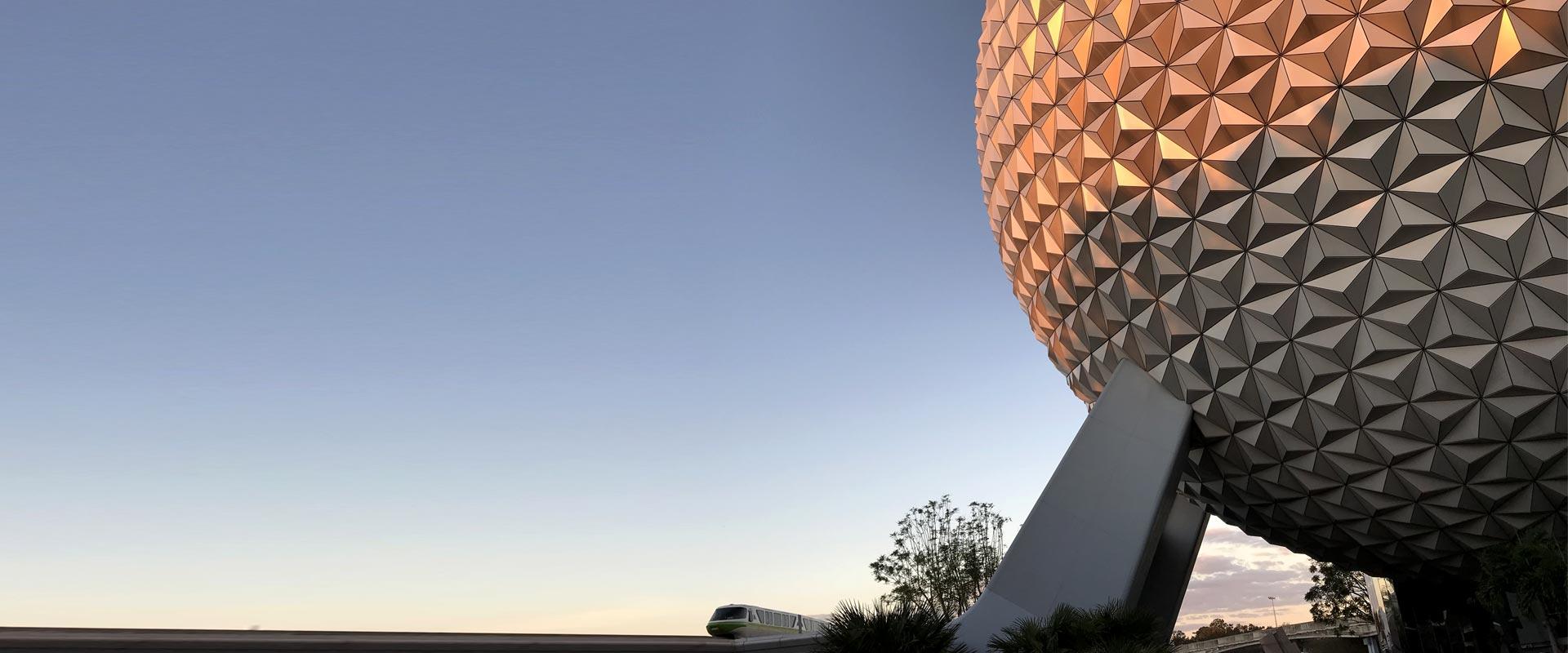 Epcot Ball - private Disney VIP tours